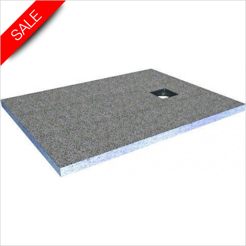 Simpsons Shower Trays - Wetroom Shower Tray 1200 x 900mm