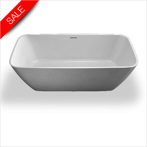 Clearwater - Vicenza Piccolo Stone Bath 1600 x 750 x 555mm