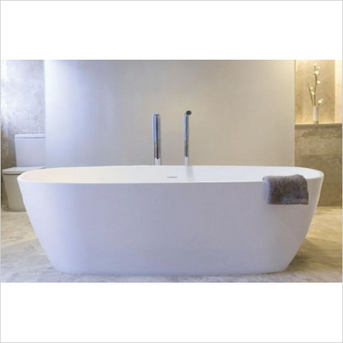BC Designs - Vive Thinn Bath 1610 x 750mm With Overflow