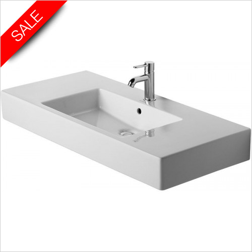 Duravit Basins - Vero Furniture Washbasin 1050mm 3TH