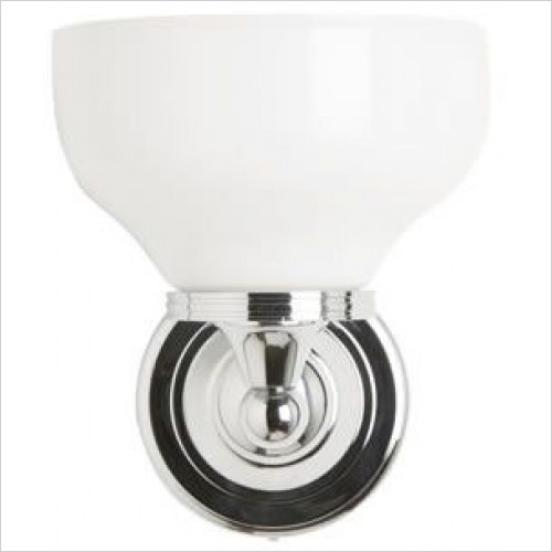 Burlington - Round Base Light, Cup Glass Shade