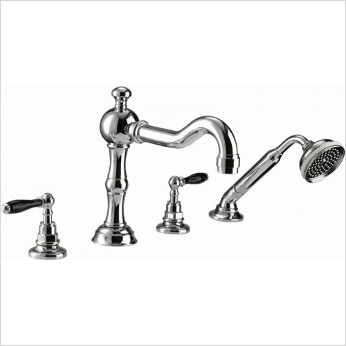 Imperial Bathroom Taps - Bec 4TH Bath Filler Kit