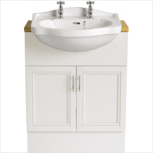 Heritage Basins - Rhyland Semi-Recessed Basin 2TH
