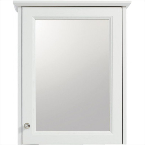 Heritage Accessories - Caversham 1 Door Mirror Wall Cabinet