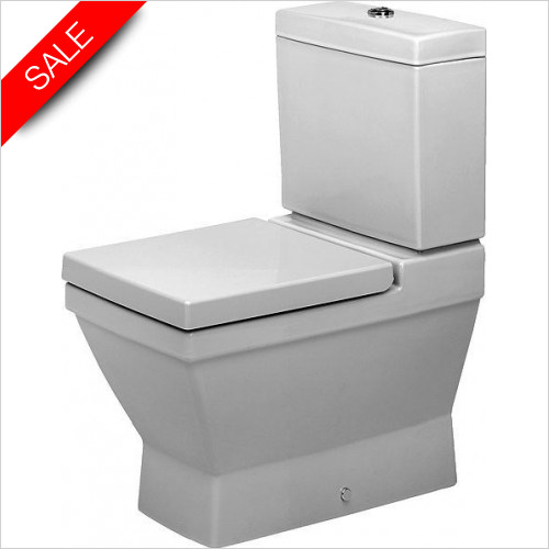 Duravit Toilets - 2nd Floor Toilet Close-Coupled 660mm Vario Outlet Washdown