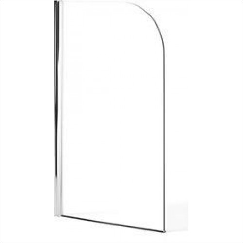 Heritage Baths - Sherbone Curved Bath Screen