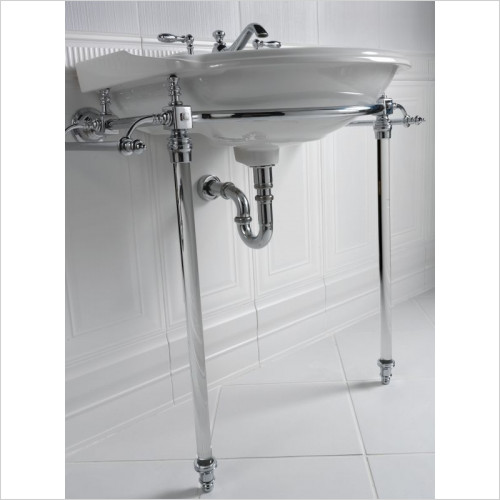Imperial Bathroom Accessories - Hardwick Oxford Basin Stand