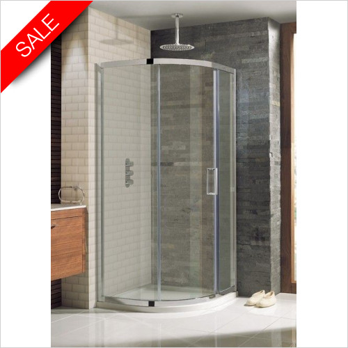 Simpsons Shower Enclosures - Elite Quadrant Single Door 900mm