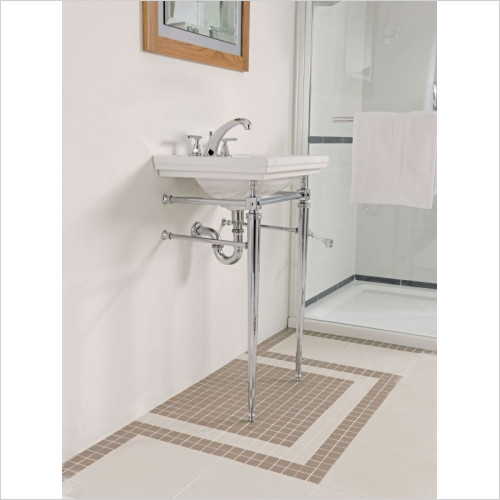 Imperial Bathroom Accessories - Astoria Deco Cloak Basin Stand