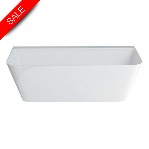 Clearwater - Patinato Grande Clearstone Bath 1690 x 800mm
