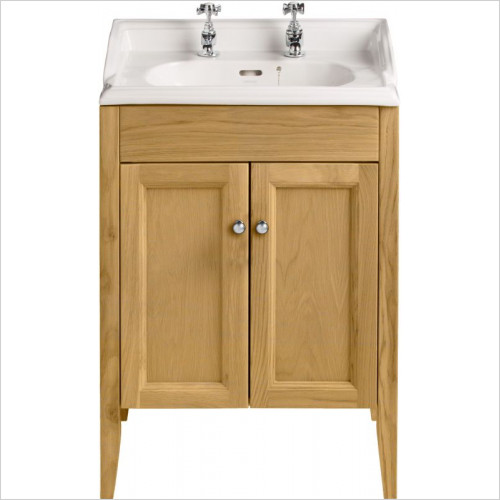 Heritage Basins - Dorchester Furniture Square Basin 3TH