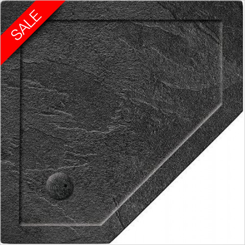 Simpsons Shower Trays - Pentangle Tray 1200x900x35mm LH