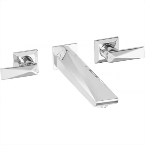 Heritage Taps - Hemsby Wall Mounted Bath Filler 3TH
