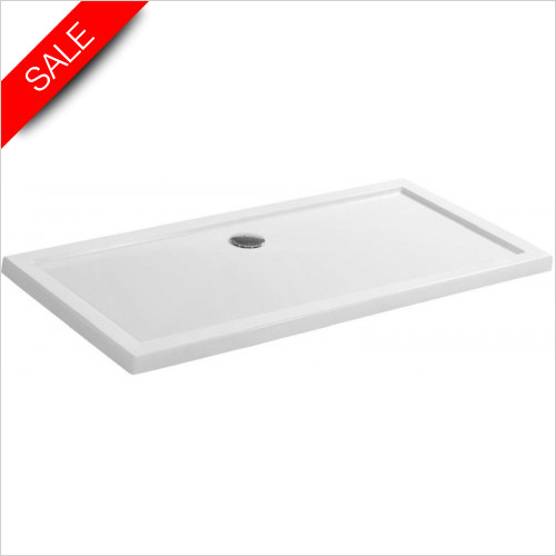 Simpsons Shower Trays - Walk In Shower Tray 1700x800x35mm