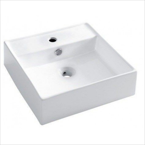 Bauhaus - Tenerife Counter Basin With Overflow 465mm