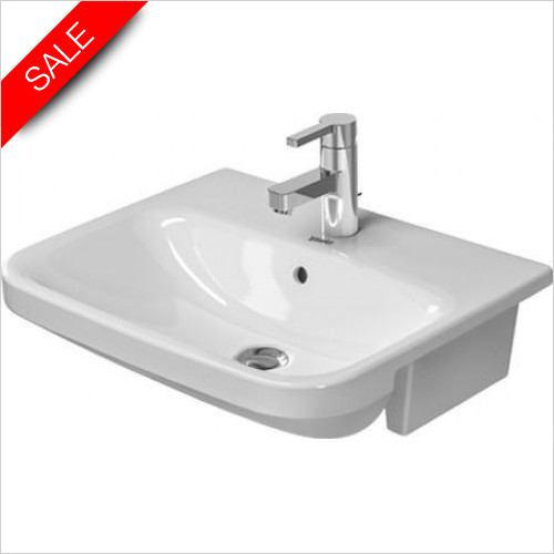 Duravit Basins - DuraStyle Semi-Recessed Washbasin 550mm 1TH