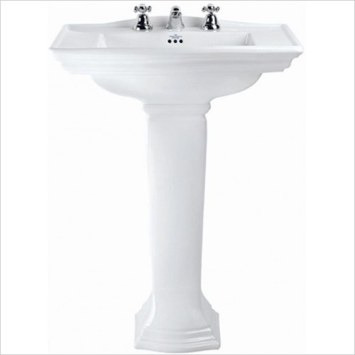 Imperial Bathroom Basins - Westminster Large Basin 685mm 2TH