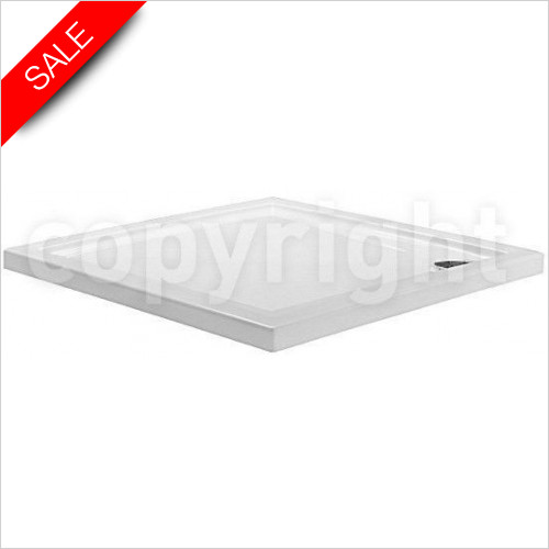 Simpsons Shower Trays - Square Tray 700x700x35mm