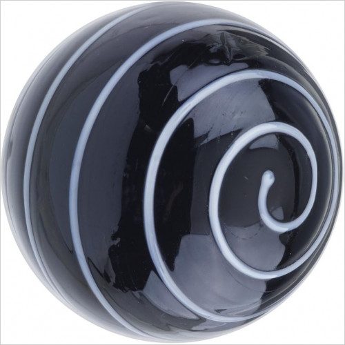 Heritage Accessories - Glass Spiral Door Knob