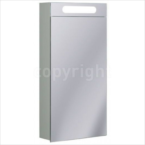 Bauhaus - Aluminium Cabinet Electric 400 x 800 x 120mm