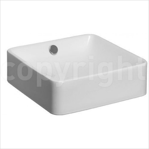Bauhaus - Sevillas Counter/Wall Mounted Basin 400mm