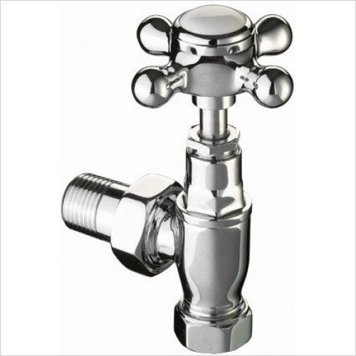Imperial Bathroom Heating - Traditional Radiator Valves (Pair)