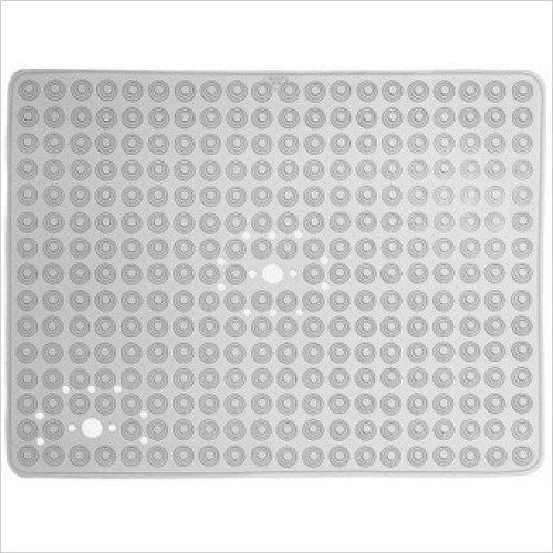 Bathroom Origins - Gedy Funky Bubble Rectangular Shower Mat