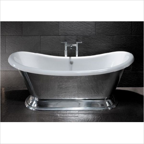BC Designs - Excelsior Bath 1780 x 760mm With Small Polished Plinth