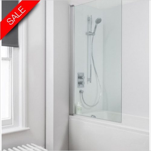 Simpsons Bath Screens - Click Single Bath Screen 800mm