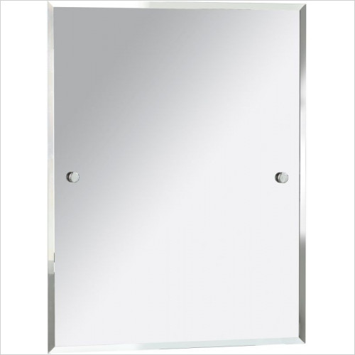 Heritage Accessories - Harlesden Rectangle 700x550mm Mirror