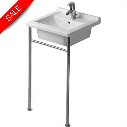 Duravit - Starck 3 Metal Console Height Adjustable