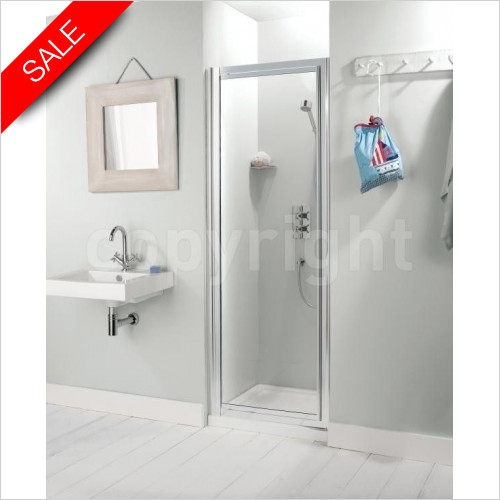 Simpsons Shower Enclosures - Supreme Pivot Door 800mm