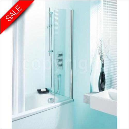 Simpsons Bath Screens - Supreme Bath Guard 350 x 1280mm