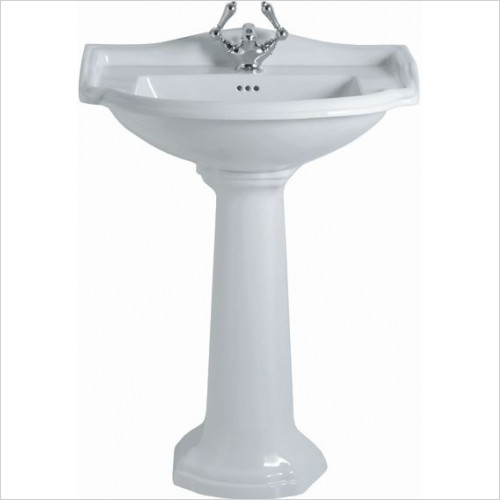 Imperial Bathroom Basins - Drift Pedestal