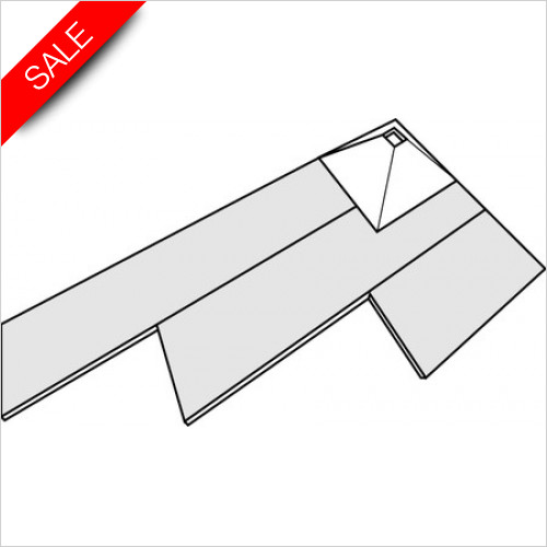 Simpsons Shower Trays - Wetroom 12mm Mini Board 1210x600mm