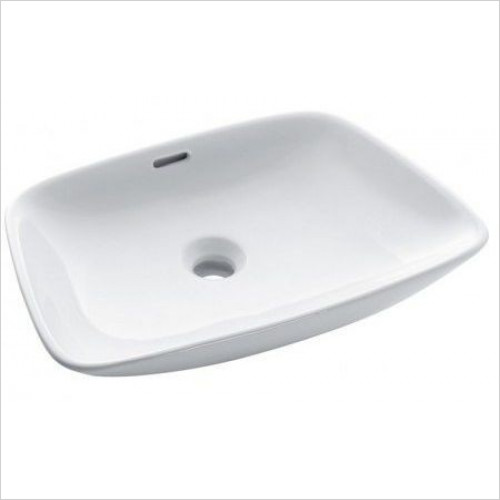 Bauhaus - Anabel Counter Basin With Overflow 500mm