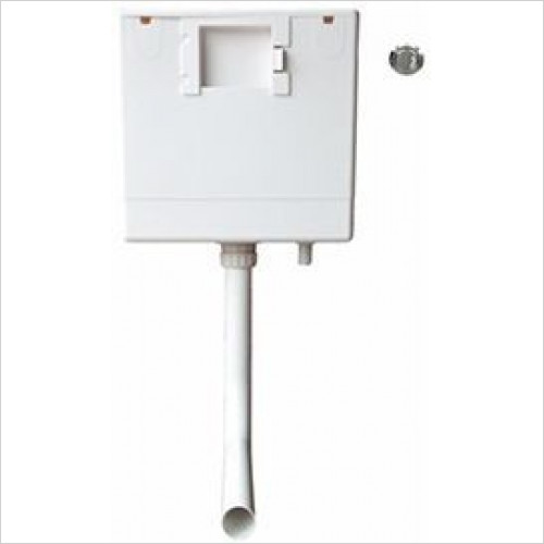 Heritage Toilets - Caversham Dual Flush Push Button Concealed Cistern