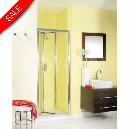 Simpsons Shower Enclosures - Supreme Bifold Door 900mm