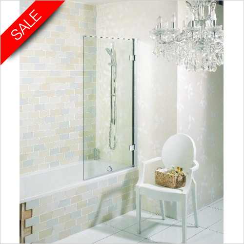 Simpsons Bath Screens - Elite Hinged Bath Screen