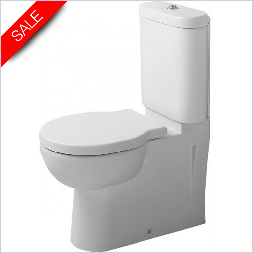 Duravit Toilets - Foster Toilet Close Coupled Vario Outlet Washdown