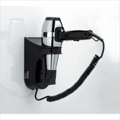 Bathroom Origins - Gedy Grecale Hair Dryer With Shaver Socket