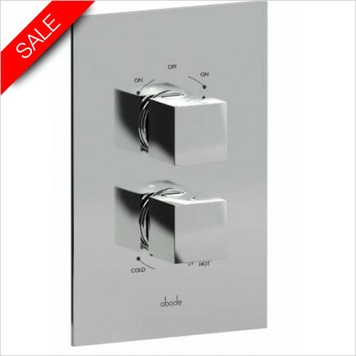 Abode - Zeal Concealed 2-Part Thermostatic Shower Mixer
