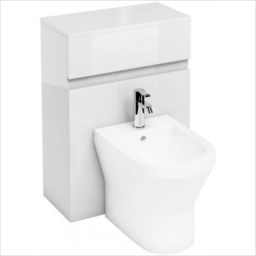 Aqua Cabinets - Back To Wall Bidet Unit 600mm