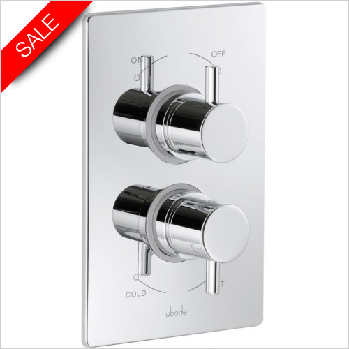 Abode - Harmonie Concealed Thermostatic Shower Valve