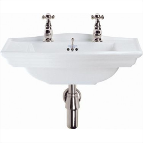 Imperial Bathroom Basins - Westminster Cloak Basin 535mm 2TH
