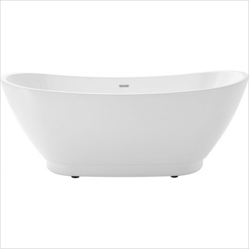 Heritage Baths - Merrivale Doub End Freestanding Acrylic Bath 1760 x 680mm