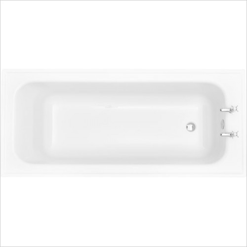 Heritage Baths - Victoria Super Deep SE Bath 1800 x 800mm 2TH