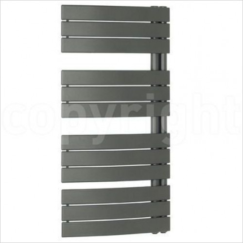 Bauhaus - Essence T Curved Straight Panel Towel Warmer 550 x 1380mm