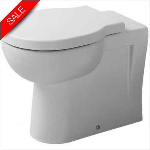 Duravit Toilets - Foster Floorstanding Toilet For Independent Water Supply