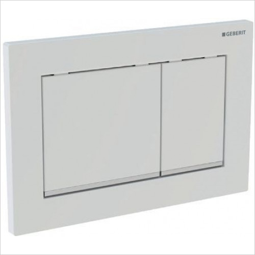 Geberit - Flush Plate Omega60 For Dual Flush